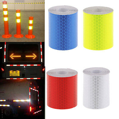 5cm 300cm Night Reflective Safety Warning Conspicuity Tape Film Truck Car Sticke