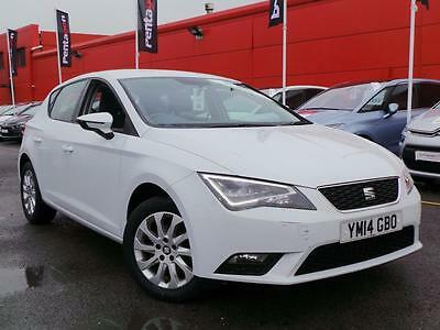 Seat Leon 1.6 Tdi Se 5Dr Inc Technology Pack - White