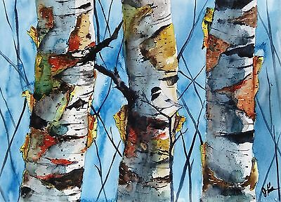 ACEO Limited Edition PRINT -  Landscape Print by Watercolor artist Jim Lagasse