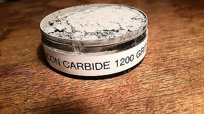 Sample Silicon Carbide 1200grit cleaning powder,pontil,soda,cure,hutch bottle