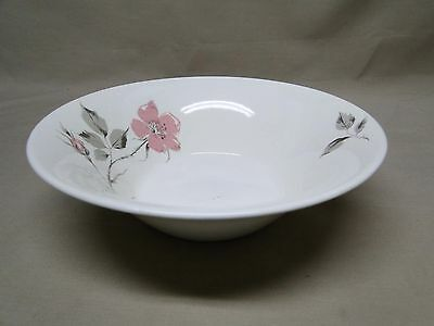 Knowles China DAWN ROSE by Kalla Round Vegetable / Serving Bowl