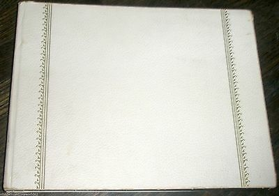 Vintage Horn Photo Album Black Pages Made in USA
