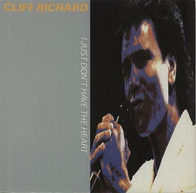 "Cliff Richard I Just Don't Have The Heart 12"" vinyl single record (Maxi) UK"