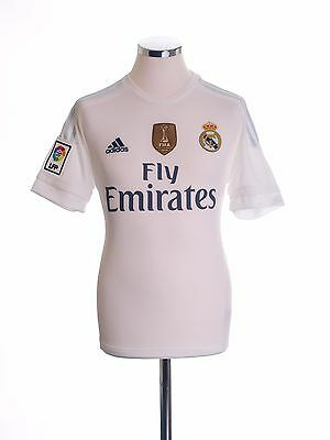2015-16 Real Madrid Home Football Soccer Jersey Shirt Top *BNIB* S-M-L-XL