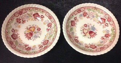 "2- 5"" Johnson Brothers Winchester Berry Bowls"