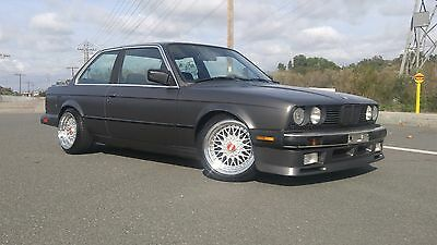 1986 BMW 3-Series Base Sedan 4-Door 1986 BMW 325e manual - E30 - 2 door 325 stick shift. NO RESERVE!