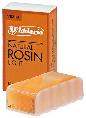 DAddario Natural Rosin Light for Violin viola cello