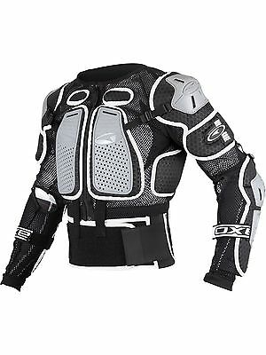 Axo Black 2017 Air Cage Kids MX Protection Jacket