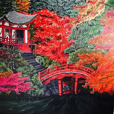 Asia Asian Tranquility Original Painting