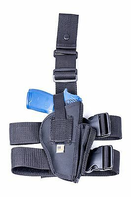 Drop Leg Thigh Holster with Mag Pouch FN FNS-9 FNS-40 Full Size MADE IN USA
