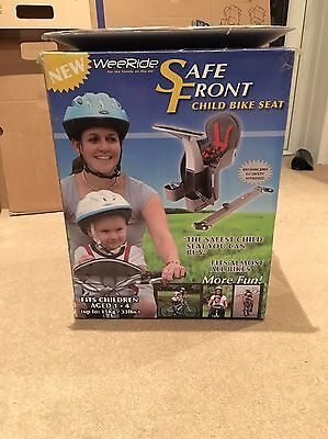 Bike seat For Toddler - Safe Front By WeeRide
