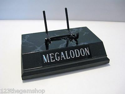 """Megalodon Shark Tooth Display Stand 5"""" For Shark Tooth Fossil Tooth Not Included"""