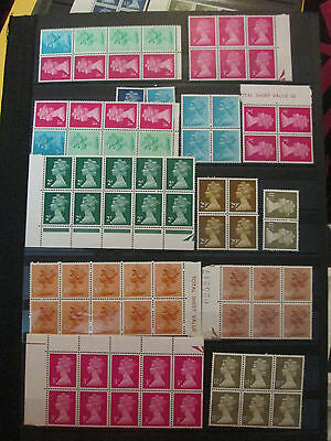 Great Britain Collection Of Mnh Machins