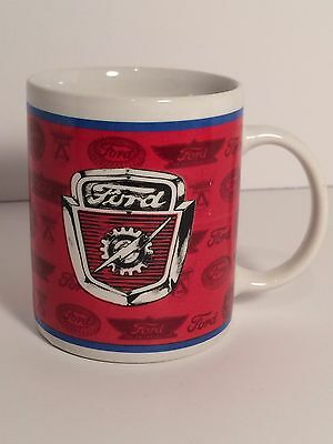Vintage Ford Coffee Mug Cup 10 oz Officially Licensed Ford Product