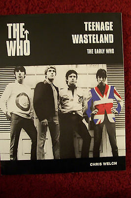 """Music Memorabilia--The Who---Book    """" Teenage Wasteland--The Early Who"""""""