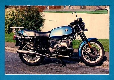 Royal Mail Post-a-Photo Postcard - 1980s BMW R65 Light Touring Motorbike