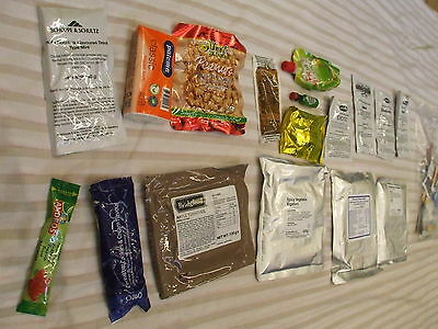 Fishing,Camping,Hiking, Boil-in-the-Bag ready meals Army Ration Packs-Vegetarian