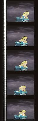 Alice in Wonderland 1951 35mm Film Cell strip very Rare a63