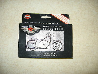 HARLEY- DAVIDSON 95th ANNIVERSARY NUMBERED LIMITED EDITION COLLECTOR TIN CARDS