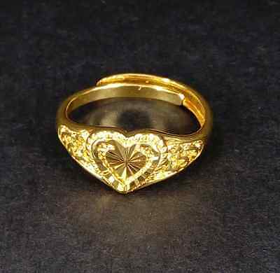 Wonderful Gold Unisex Ring Solid 14K Yellow Gold Ring Jewelry 2.66 g