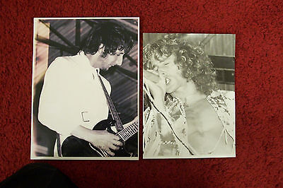 Music Memorabilia--The Who --- Two Real Photos From The Isle Of Wight Festival