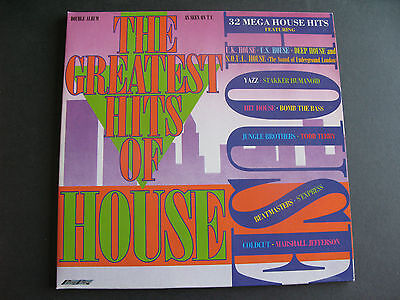 Various - The Greatest Hits Of House - Double Album - SMR 867 - Vinyl LP - 1988