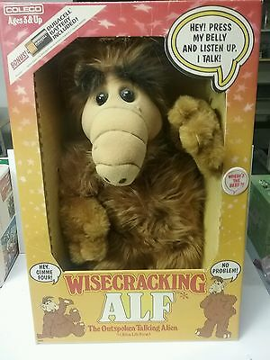 Wisecracking ALF Doll, never removed from box