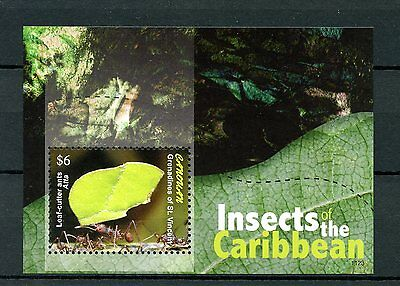 Canouan Grenadines Vincent 2011 MNH Insects Caribbean 1v S/S II Leaf-cutter Ants