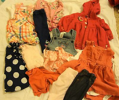 Quality Girls Bundle 3-6m NEXT, M&S, Guess - Dress, Outfits Coat ect
