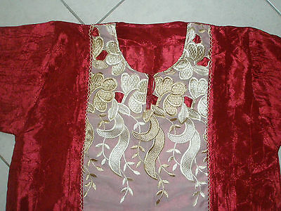 djellaba rouge Taille 42/44