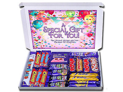 ANY OCCASION Personalised Chocolate Selection Box Gift Hamper Birthday Thank You