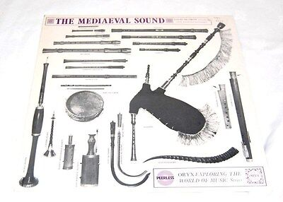 The Mediaeval Sound Early Woodwind David Munrow Vinyl Peerless EXP46 BFC/F2