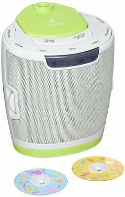 myBaby Soundspa Lullaby Sound Machine and Projector, Excellent Baby Products