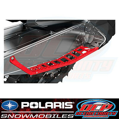 New Pure Polaris Snowmobile Switchback Assault Oem Red Extreme Running Boards