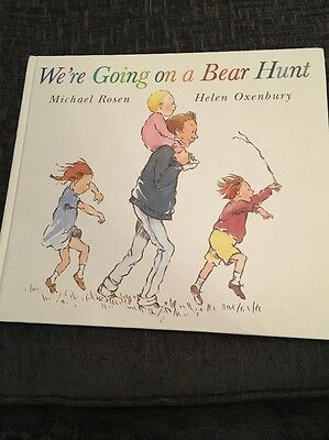 Childrens Pre School Book-We're Going On A Bear Hunt By Michael Rosen