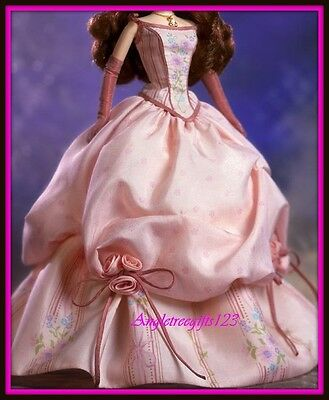 Beautiful pink grand entrance gown for silkstone Barbie model muse royalty