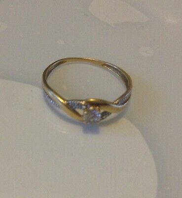 Bague  en OR JAUNE 18 Carat Fine 1 Gramme