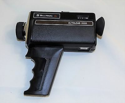 Vintage Bell & Howell XL Autoload Movie Camera, Runs, Uses Type G Super 8 Film
