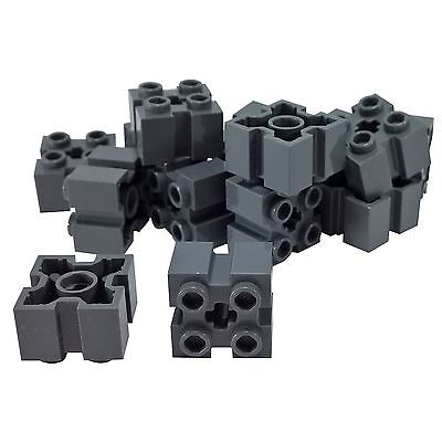 Modified 2 x 2,Pins and Axle Hole Blue 20 NEW LEGO Brick