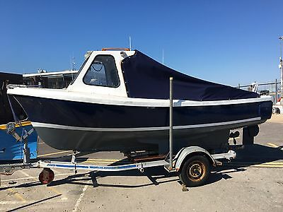 16ft Oyster Fishing Boat 1.8 BMC Inboard Diesel Engine.