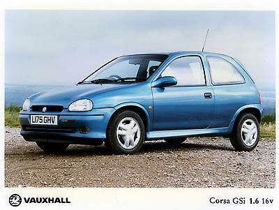 Vauxhall-Opel Corsa B Photo Collection inc GSi-16v, SRi, Sport, over 450 images