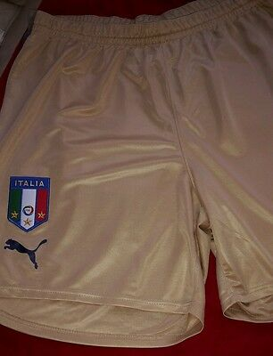 Puma italia football shorts xl