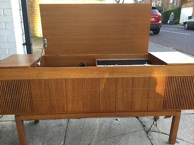 hmv 2351 radiogram with manual working