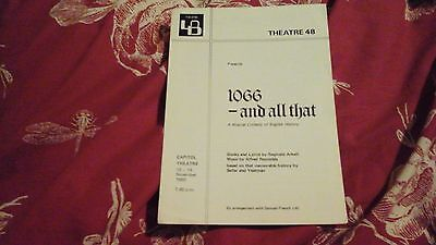1066 - And All That  - Theatre 48  - 1980 @ Capitol Theatre   = Freepost