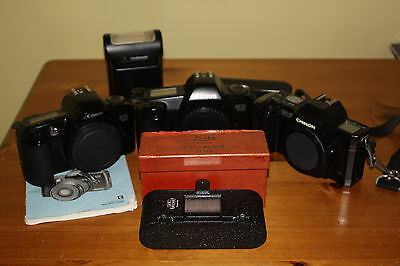Mixture of Old 35mm Camera Equipment