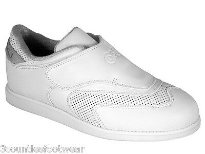 Ladies Lawn Bowl Shoes - Legend - Softest Leather - Velcro Size 3 4 5  7