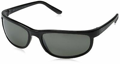 Ray-Ban RB2027 601/W1 Black Frame Polarized Grey Mirror 62mm Lens Sunglasses