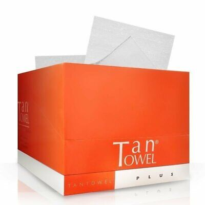 Tan Towel Half Body Plus (50 Pack)