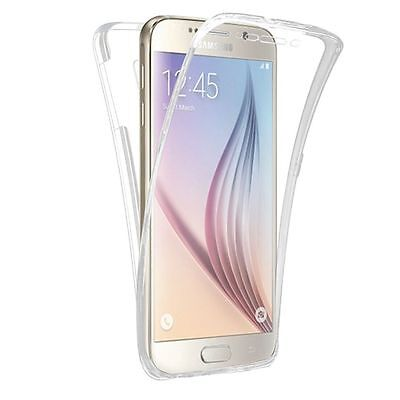 Shockproof 360° Silicone Protective Clear Case Cover For Samsung Galaxy S6 (12)