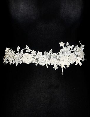 Emmerling Wedding Belt Designer 16137 Ivory Lace RRP £78.99